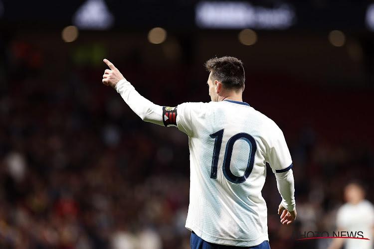 Lionel Messi adresse un message fort