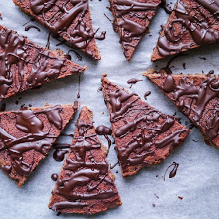 Coconut Flour Beetroot + Choc Brownie Bars