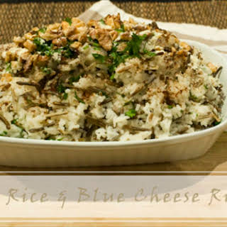 Wild Rice & Blue Cheese Risotto.