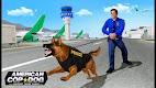 screenshot of US Police Dog 2019: Airport Crime Shooting Game