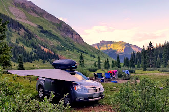 Photo: Primative campsite on South Fork Mineral Creek