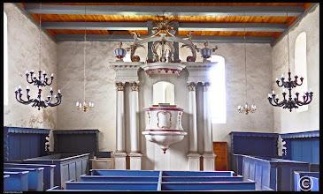 Photo: Dorfkirche Hardenbeck aus dem 13. Jhdt. mit Lutherkanzel aus dem 18. Jahrhundert  Spenden können auch überwiesen werden.   Nutzen Sie dazu bitte folgende Kontodaten:   -  Zahlungsempfänger:   K.V.A. Eberswalde -  Bankinstitut:                Sparkasse Uckermark -  IBAN:                           DE74 1705 6060 3431 0003 97 -  BIC:                             WELADED1UMP -  Verwendungszweck:  Orgel Hardenbeck  (bitte angeben)   Die Kirchengemeinde Hardenbeck bedankt sich für Ihre wertvolle Hilfe und Unterstützung.