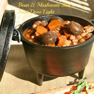 Bean and Mushroom Provencal.