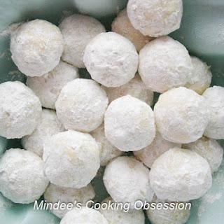 Almond Snowball Cookies.