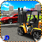Police ForkLift vs Car Traffic 1.2 Apk
