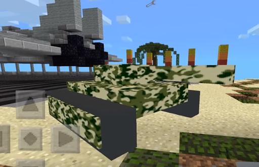 World War Tank Mod for MCPE
