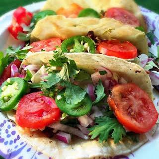 Breakfast Steak Tacos.