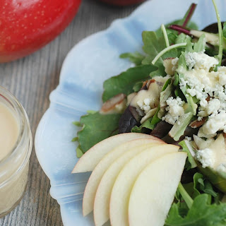 Homemade Creamy Apple Vinaigrette.