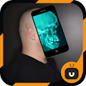 X-Ray Scanner Head  Simulated icon
