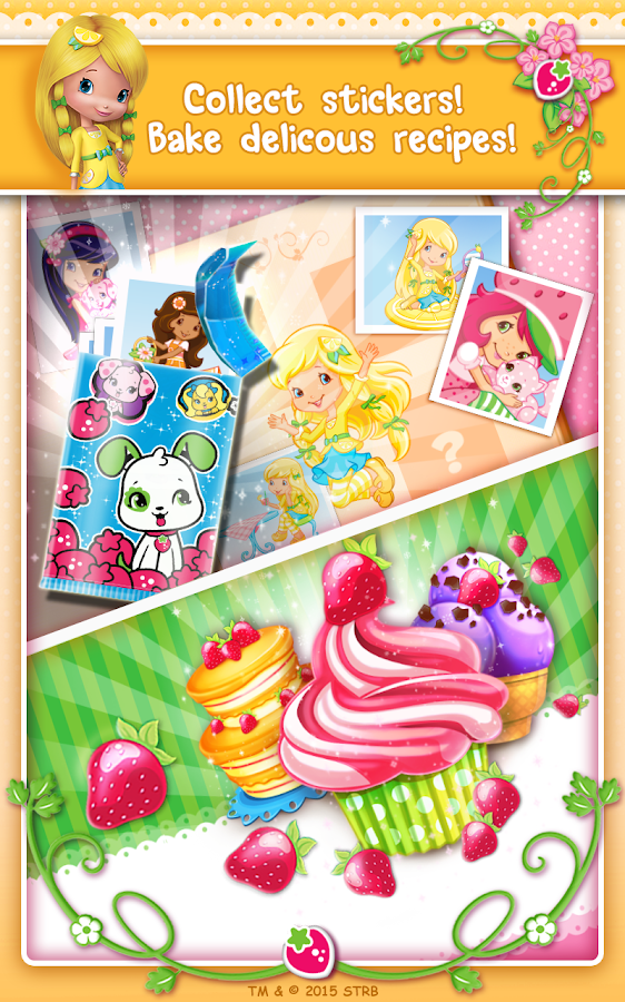 Screenshots of Strawberry Shortcake BerryRush for iPhone