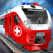 Ambulance Driving Game: Patient Delivery Train Sim