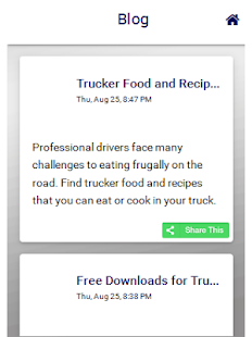 Truckers Savings App- screenshot thumbnail