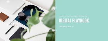 Digital Playbook - Facebook Cover Photo template