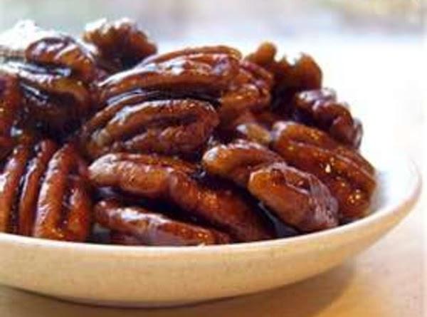 Glazed Pecans Recipe