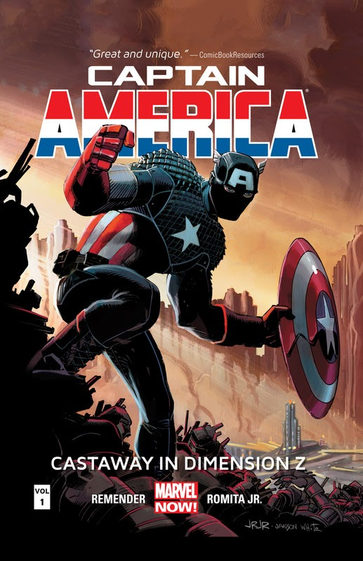 Captain America: Castaway in Dimension Z (2013) - complete