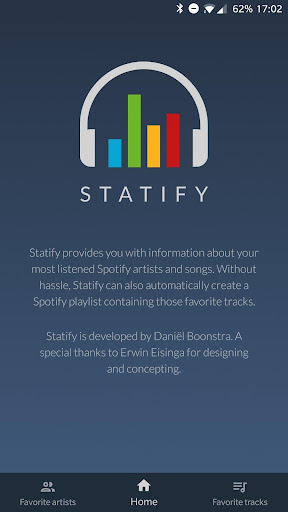 Statify - Find your Spotify favorites! 1.1.0 screenshots 4
