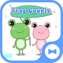 Cute Wallpaper Frog Couple APK icon