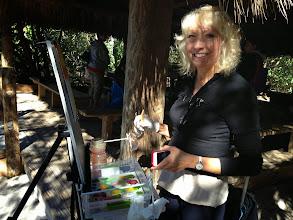 Photo: Pam at Gumbo Limbo