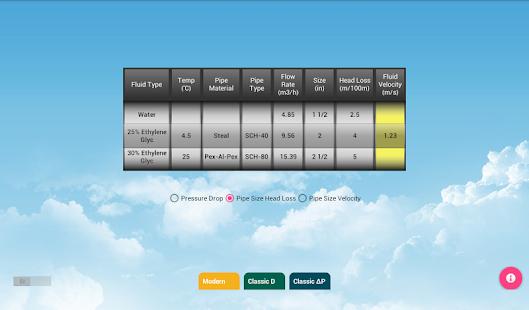 App HVAC Pipe Calculator APK for Windows Phone