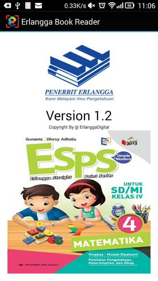 Erlangga Reader- screenshot