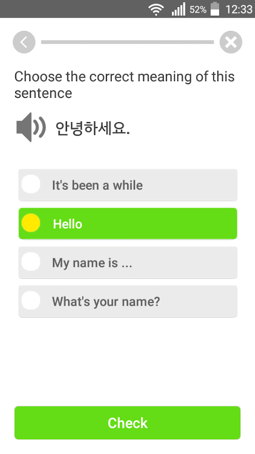 Learn Korean Communication- screenshot