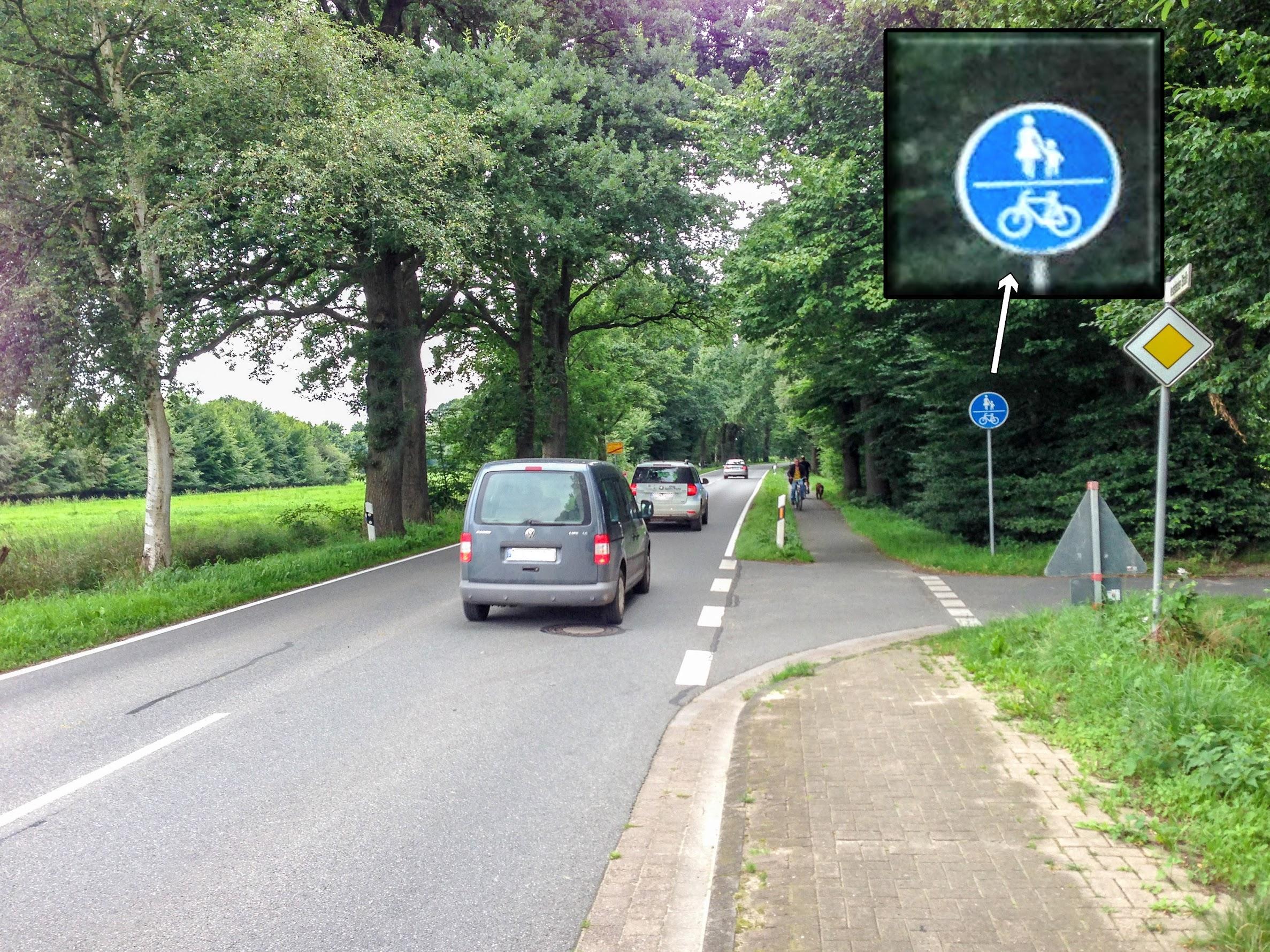 Radweg Westerbecker Str. in Osterholz-Scharmbeck