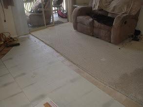Photo: Installed whisper matting