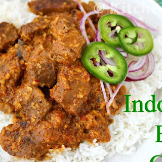 Indonesian Beef Rendang Curry.