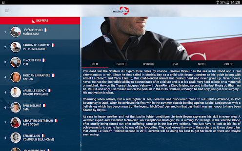 Vendée Globe 2016- screenshot thumbnail