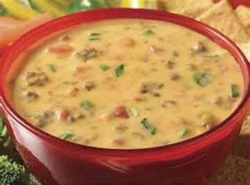 Velvetta Sausage cheese dip