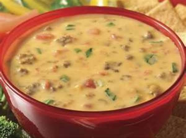 Velvetta Sausage Cheese Dip Recipe