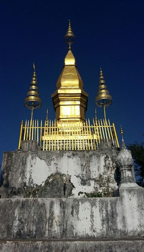 That Phou Si trên đỉnh Phou Si .