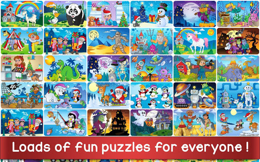 Christmas Puzzle Games - Kids Jigsaw Puzzles ud83cudf85 25.1 screenshots 15