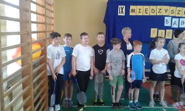 """Photo: Turniej badmintona """"Pierwszy krok"""""""