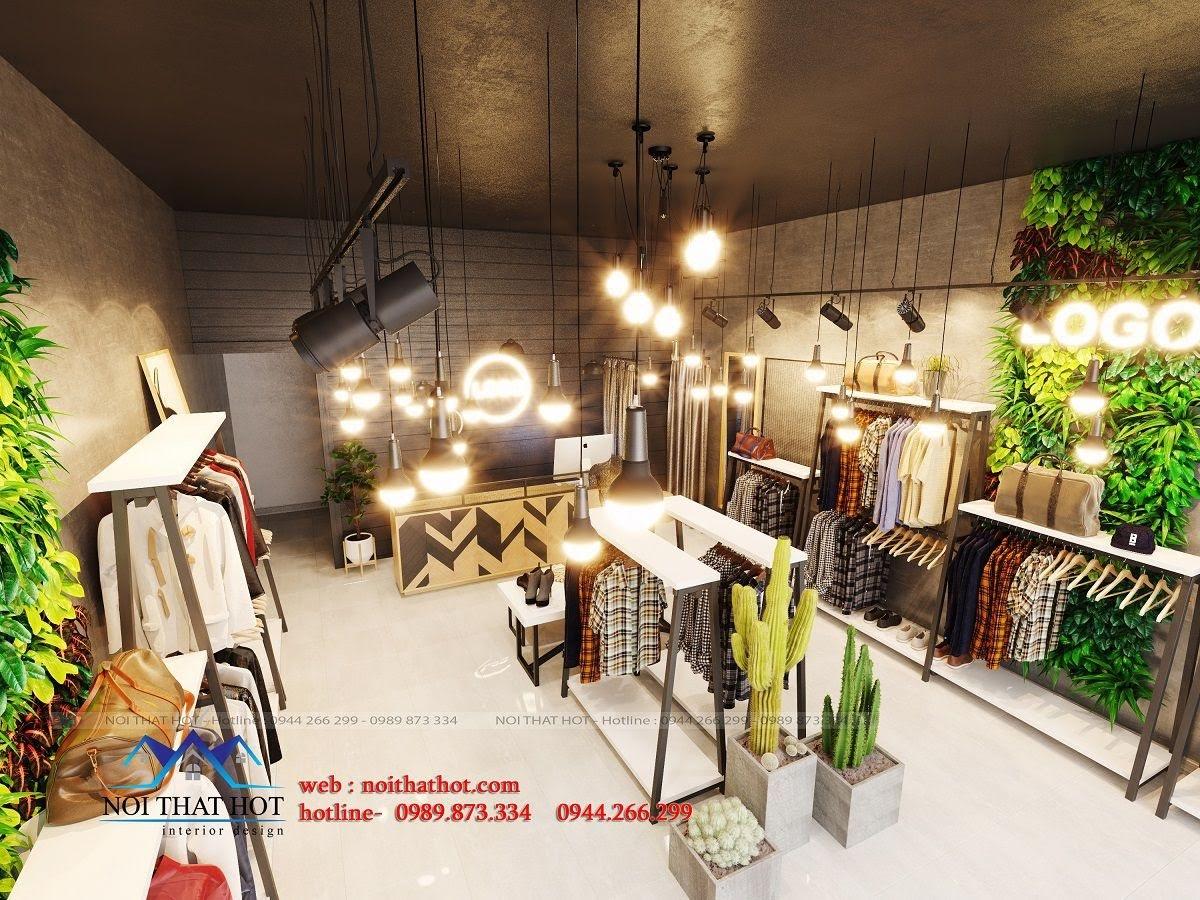 thiết kế shop thời trang nữ 3