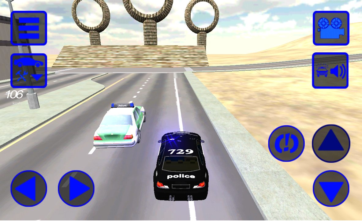 police car simulator 2016 android apps on google play. Black Bedroom Furniture Sets. Home Design Ideas