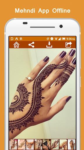 Mehndi App Offline  screenshots 3