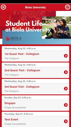 Biola Student Life 2.5.0 screenshots 2