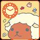 カピバラさん時計「干支ひつじ2015」