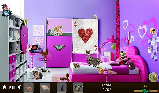 Hidden Object Fancy Girl Rooms