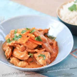 Penang Chicken Curry.