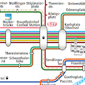 Munich Subway Map