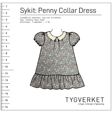 Sykit: Penny Collar Dress