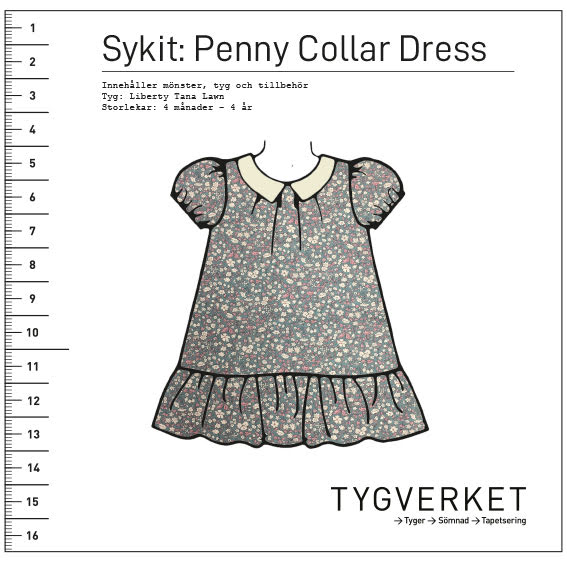Sykit: Penny Collar Dress