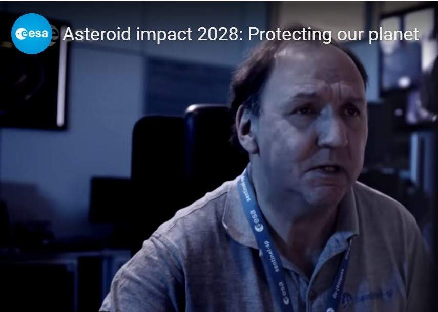 ESA Asteroid Impact 2028 video