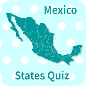 Mexico States & Capitals Map Quiz