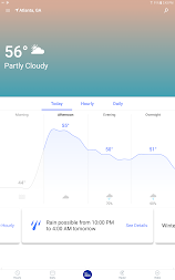 Weather Radar & Live Maps with The Weather Channel APK screenshot thumbnail 9