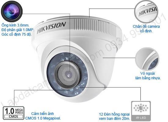 HIKVISION DS-2CE56C0T-IRP hikvision ds-2ce56c0t-irp