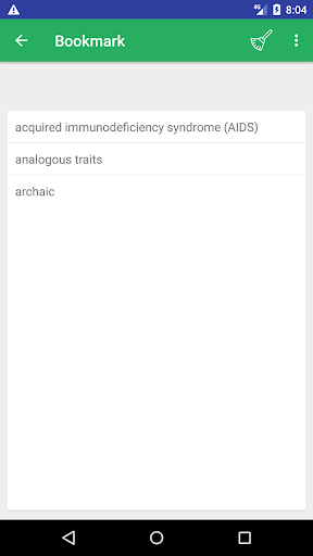 Screenshot 4 Biology Dictionary