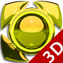 Next Launcher Theme g. yellow icon